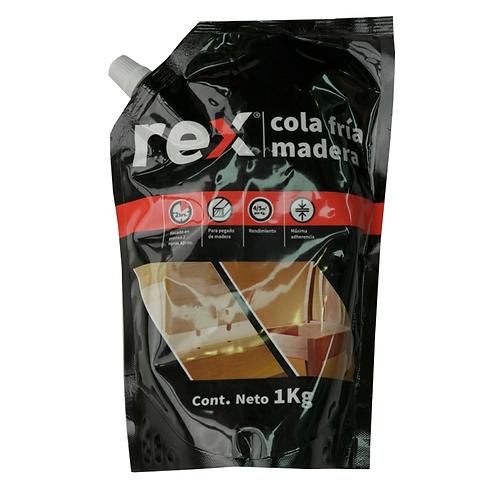 Cola Fría Para Madera Rex Sachet 1000gr Rex