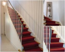 Reihenhaus Treppe