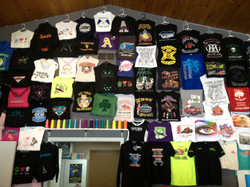 Great Wall of T-Shirts