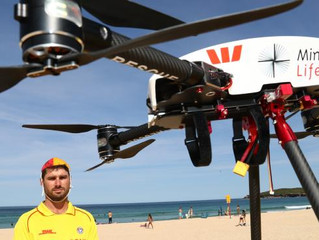 Drones saved the lives of two teenagers off NSW north coast in 'world first rescue'
