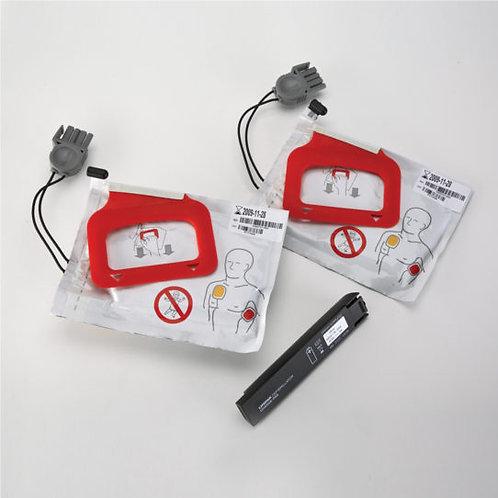 LIFEPAK CR Plus Charge-Pak x 2 Electrodes