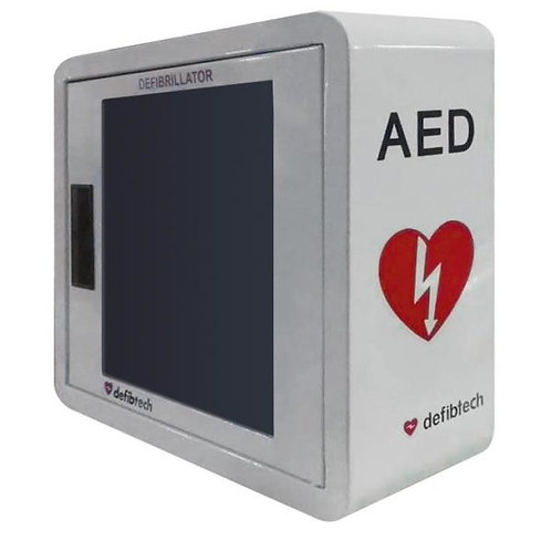 Defibtech Wall Mount AED Cabinet with Alarm