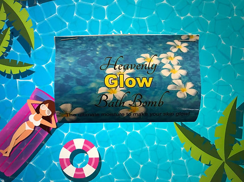 Heavenly GLOW Bath Bomb