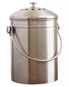 Natural Home Stainless Steel Compost Bin Target