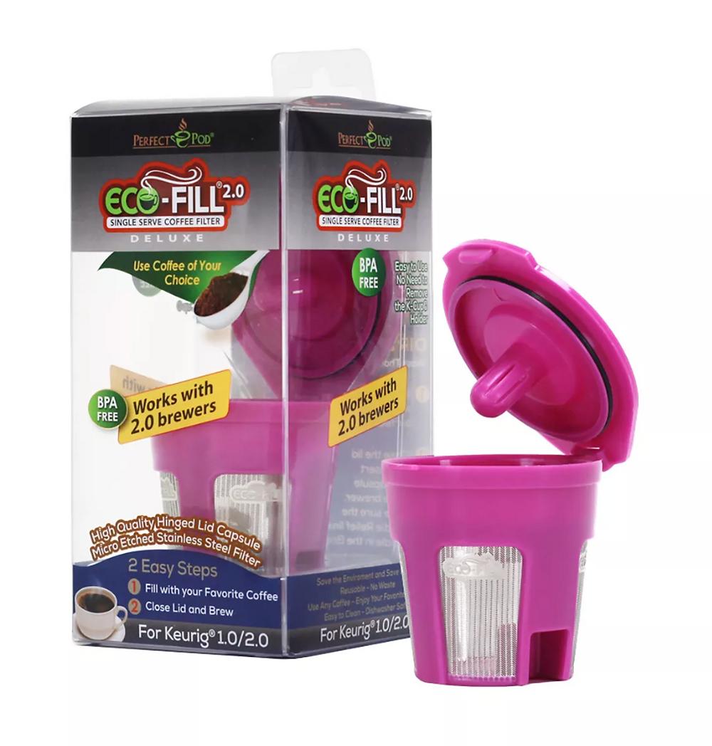 reusable kcup single serve coffee filter