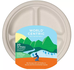 world centric compostable plates