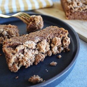 Vegan + Gluten-Free Coffee Cake
