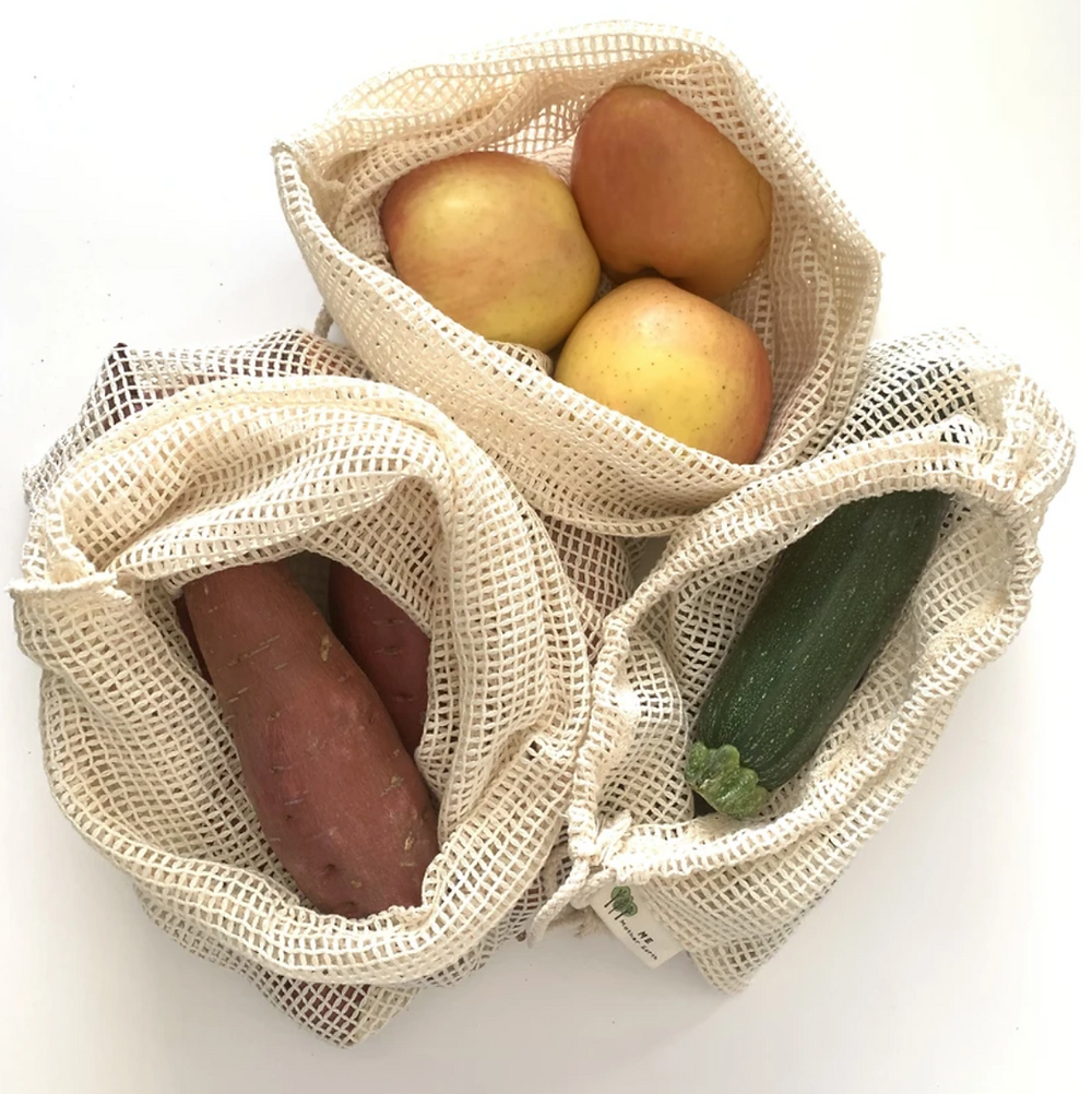 ME Mother Earth's Reusable Produce Bags