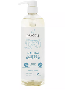 puracy all natural laundry detergent