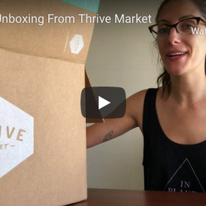 Vegan Unboxing From Thrive Market