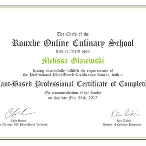 My Experience With Rouxbe Online Culinary School
