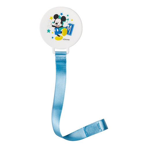 Attache tétine ruban Disney Mickey Bloom
