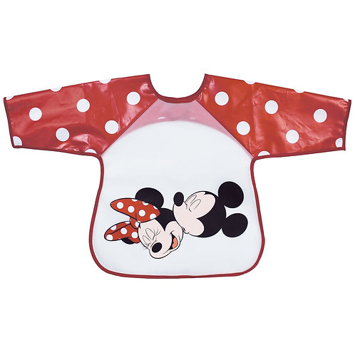 Bavoir tablier plastifié Disney Mickey & Minnie - 18 mois