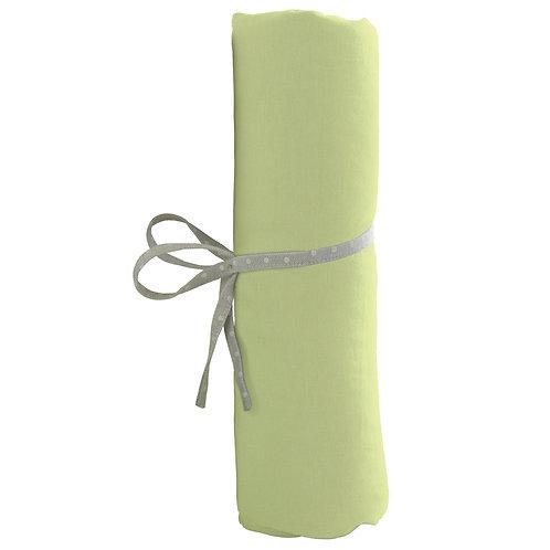Drap housse uni 70x140 cm - Vert