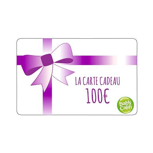 Carte cadeau Babycalin - 100 euros