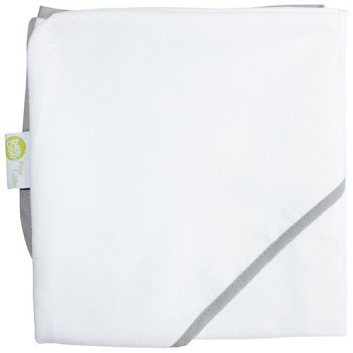 Cape de bain en microfibre 70x70 cm - Blanc