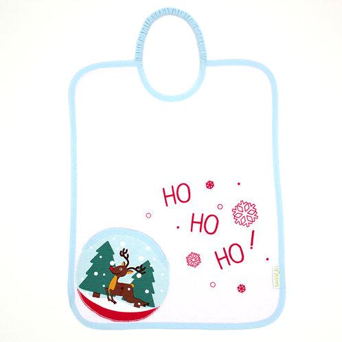 Bavoir pliable Bagolo Noël boule à neige - 12 mois