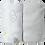 Thumbnail: Lot de 2 draps housses 60x120 cm - Nuage/Gris