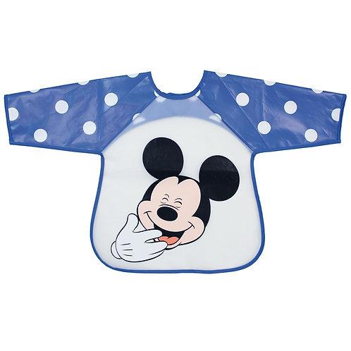 Bavoir tablier plastifié Disney Mickey - 12 mois