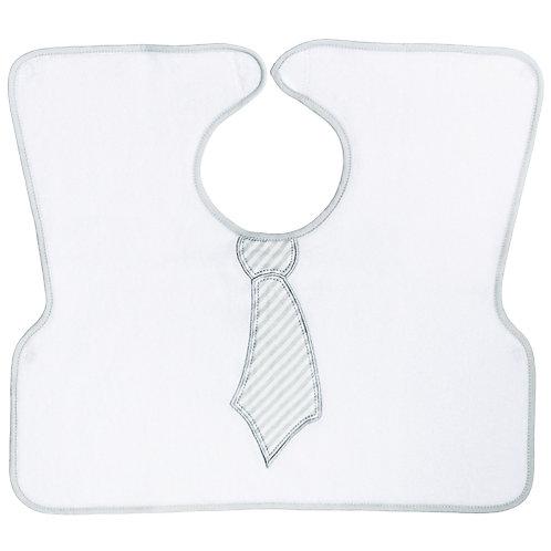 Bavoir ultra couvrant Cravate - 18 mois