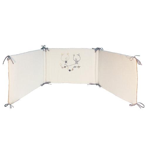 Tour de lit adaptable Odidou - 40x180 cm