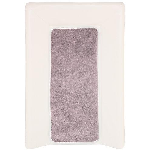 Matelas à langer Luxe avec serviette à scratch - Écru