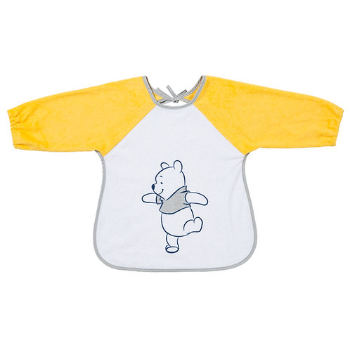 Bavoir tablier éponge Disney Winnie - 12 mois