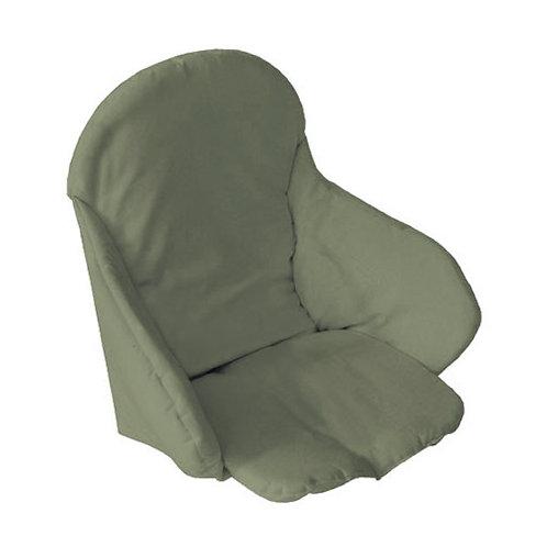 Coussin de chaise haute en tissu - Kaki