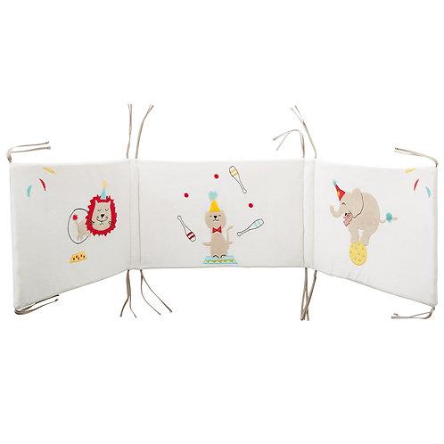 Tour de lit adaptable Circus - 120 à 140 cm