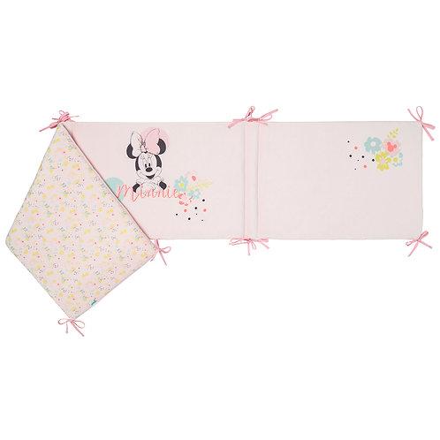 Tour de lit adaptable Disney Minnie Floral - 40x180 cm