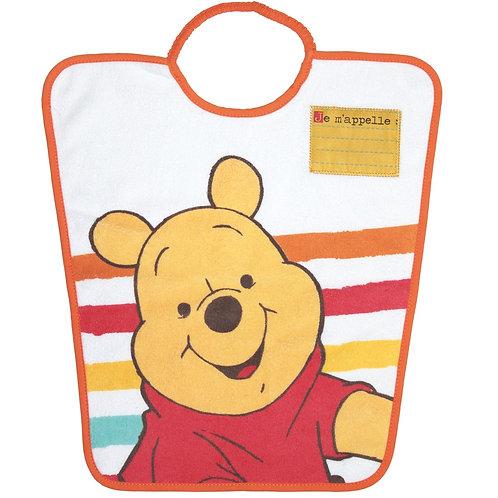 Bavoir maternelle avec étiquette Disney Winnie - 24 mois