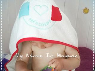 My Name Is Maman a testé la cape de bain Bébé Président