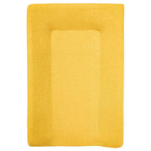 Housse de matelas à langer en éponge 50x70 cm - Moutarde