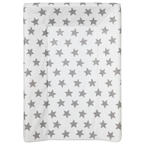 Matelas à langer Luxe 50x70 cm - Etoiles grises