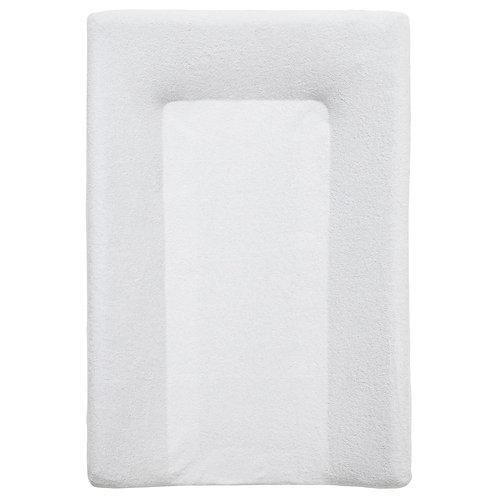 Housse de matelas à langer en éponge 50x70 cm - Blanc
