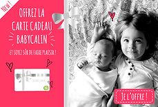 La carte cadeau Babycalin