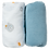 Thumbnail: Lot de 2 draps housses 70x140 cm - Ours/Bleu