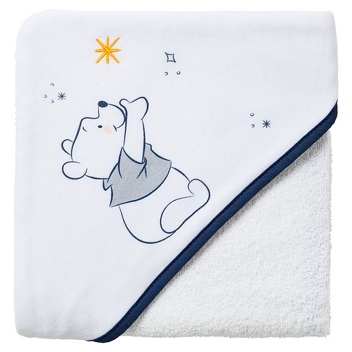 Cape de bain Disney Winnie Moon - 80x80 cm