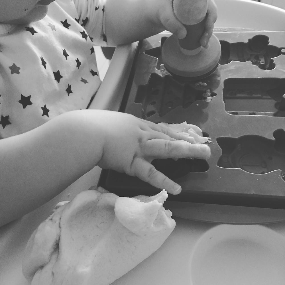 pate à sel bébé