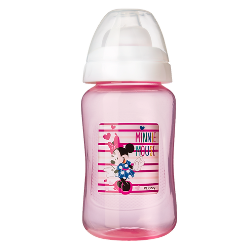 Tasse à bec souple Disney Minnie Pink Girl - 250 mL