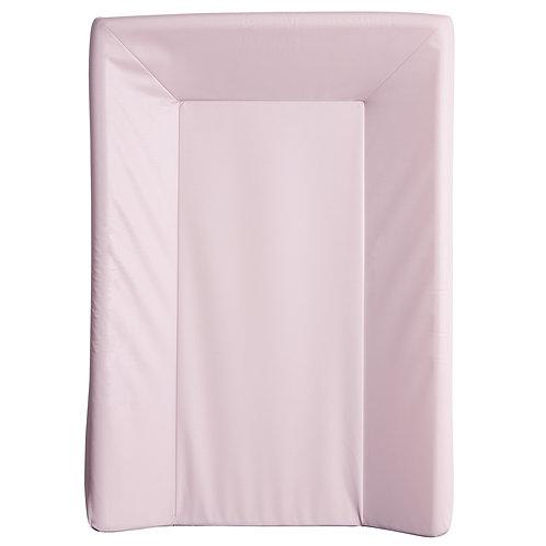 Matelas à langer luxe uni en PVC 50x70 cm - Rose