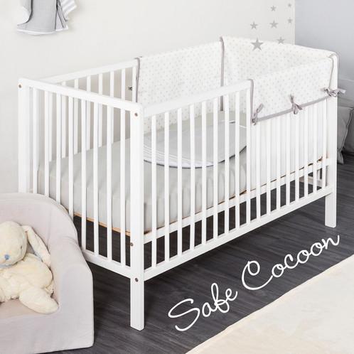 tour de lit respirant securise safe cocoon de lilou miaka. Black Bedroom Furniture Sets. Home Design Ideas