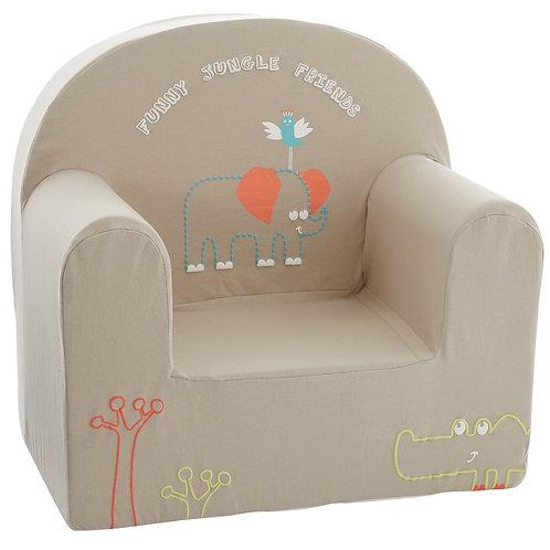 Lot fauteuil droit Jungle Friends + Housse supplémentaire