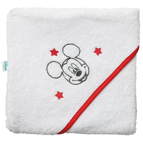 Cape de bain en éponge Disney Mickey - 80x80 cm