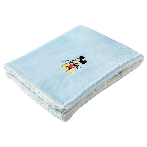 Couverture bi-matière Disney Classic Mickey - 75x100 cm