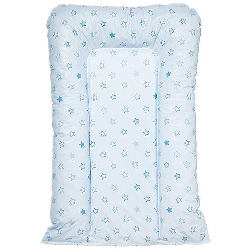 Matelas à langer Flocons 50x70 cm - Etoile bleu