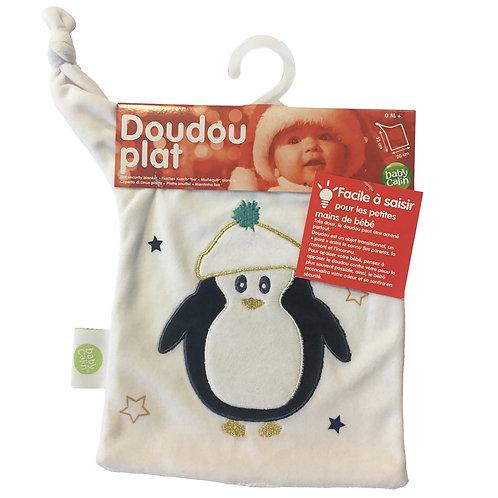 Doudou plat Pingouin