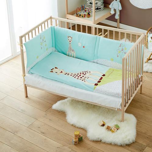 tour de lit bébé sophie la girafe TOUR DE LIT ADAPTABLE SOPHIE LA GIRAFE tour de lit bébé sophie la girafe