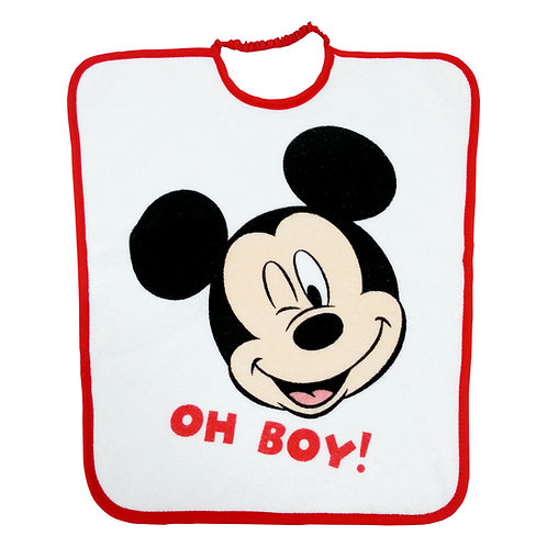 Bavoir maternelle élastiqué Disney Mickey Oh Boy !