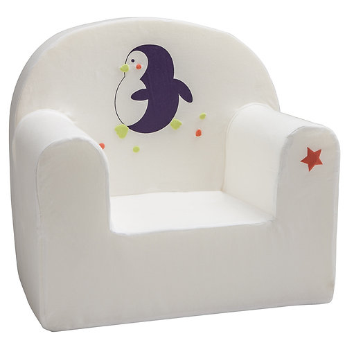 Housse de fauteuil enfant droit - Petit Pingouin